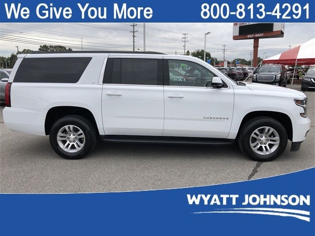 2020 Chevrolet Suburban Lt 1gnskhkc8lr109578 615 244 3615 Wyatt Johnson Ford Nashville Tn